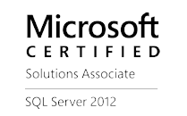 Microsoft Certified Solutions Associate SQL Server 2012 Logo